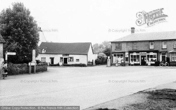 Photo of Blunham, The Square c.1965