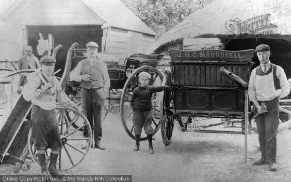 Blunsdon, Back Lane Wagon Works 1912