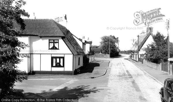 Bluntisham, Colne Road c1955