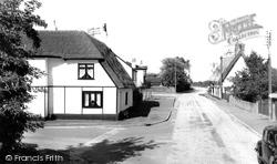 Colne Road c.1955, Bluntisham