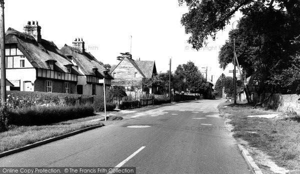 Bluntisham, High Street c1955