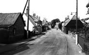 Bluntisham, High Street c.1965