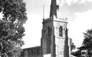 Bluntisham, St Mary's Church c.1955