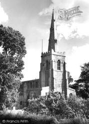 St Mary's Church c.1955, Bluntisham
