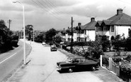 Blurton, Church Road c.1960