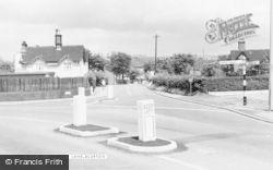 Blurton, Drubbery Lane c.1960