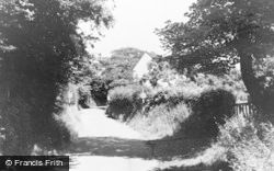 Blurton, School Lane c.1960