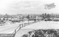Blurton, Trentham Road c.1960