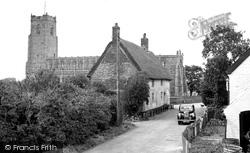 Blythburgh, Village c.1955