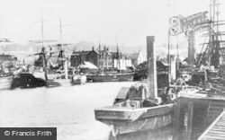 Bo'ness, The Docks c.1900