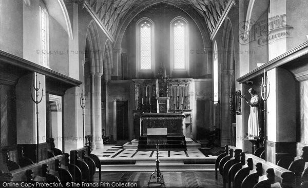 Bocking, Convent Interior 1903