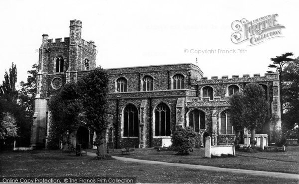 Bocking, Parish Church Of St Mary The Virgin c.1960