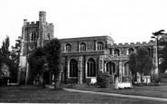 Bocking, Parish Church Of St Mary The Virgin c.1960