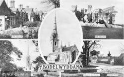 Bodelwyddan, Composite c.1955