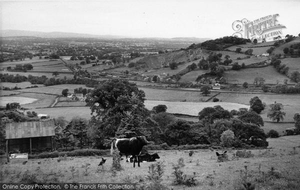 Bodfari, General View c.1955