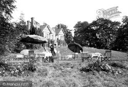 Bodfari, The Tea Gardens 1936