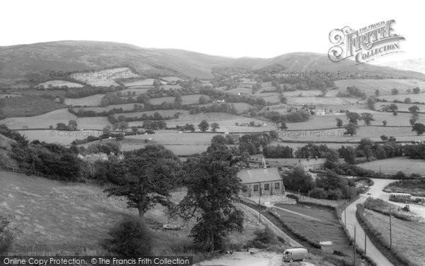 Bodfari, View From The Church c.1960