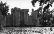 Bodiam, The Castle c.1955