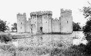 Bodiam, the Castle c1955