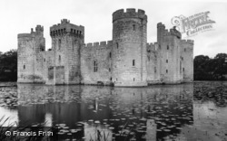 Bodiam, the Castle c1960