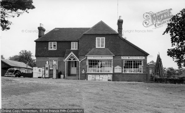 Bodiam, The Post Office Stores c.1960