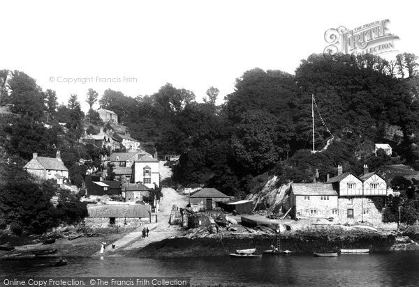 Bodinnick, On The River Fowey 1901
