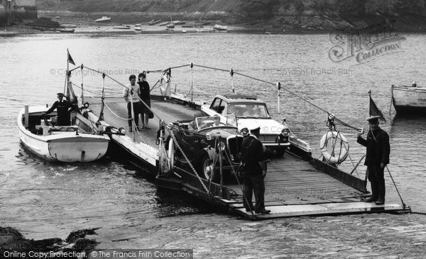 Bodinnick, The Ferry 1963