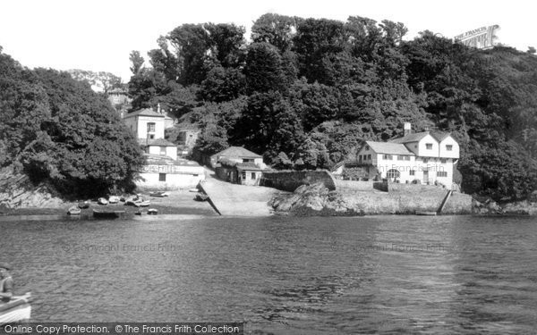 Bodinnick, The Ferry  c.1960
