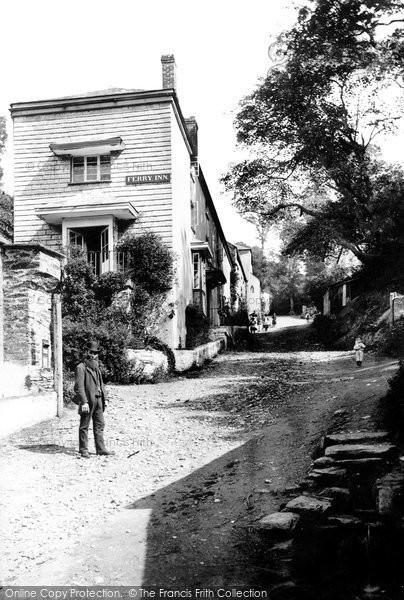 Bodinnick, The Ferry Inn 1888