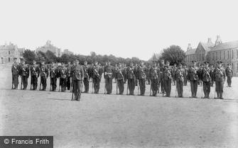 Bodmin, Barracks 1906