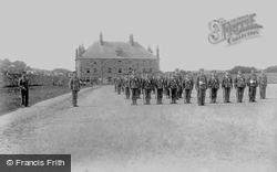 Bodmin, Barracks 1906
