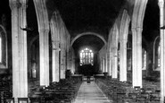 Bodmin, Church Interior 1901