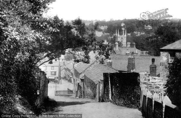 Bodmin, Church Lane 1894