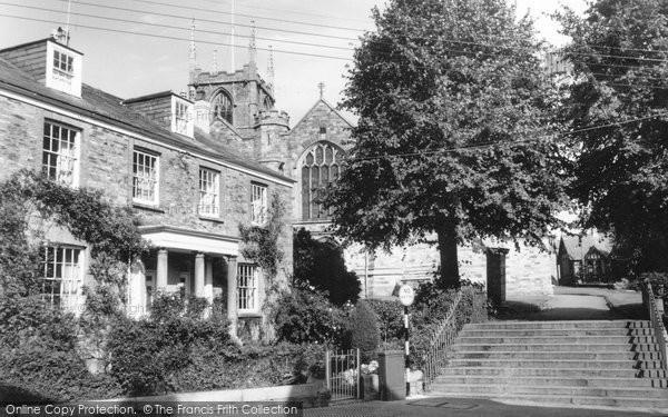 Bodmin, Church Square c.1960
