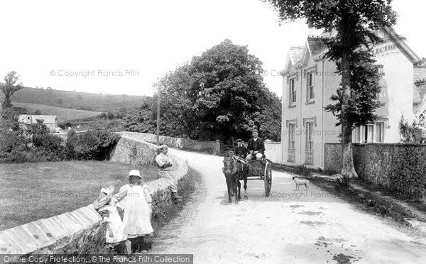 Bodmin,Dunmere Bridge and Mill 1906,Cornwall