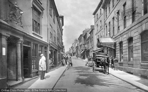 Bodmin, Fore Street 1920