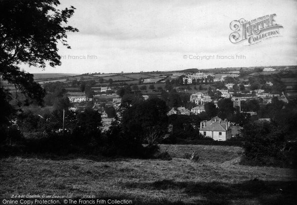 Bodmin, From Beacon Hill 1890