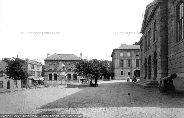 Bodmin, Mount Folly Square 1894