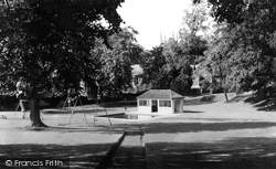 Bodmin, Priory Park c.1955