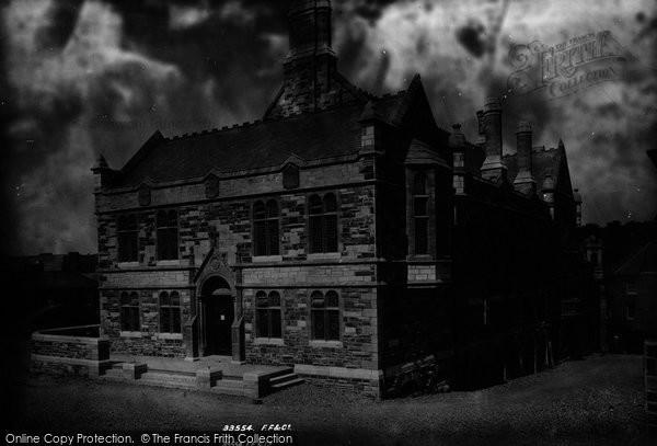 Bodmin, Public Rooms 1894