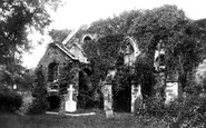 Bodmin, Ruins In The Churchyard 1890