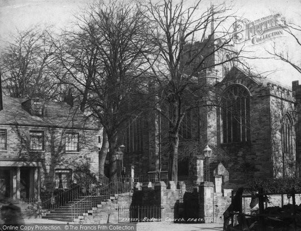 Bodmin, St Petroc's Church 1894