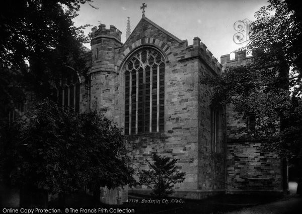 Bodmin, St Petroc's Church 1901