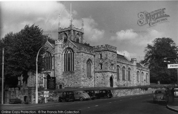 Bodmin, St Petroc's Church c.1955