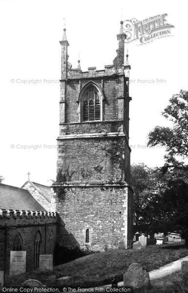 Bodmin, St Petroc's Church Tower 1890
