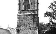 Bodmin, St Petroc's Church Tower 1890