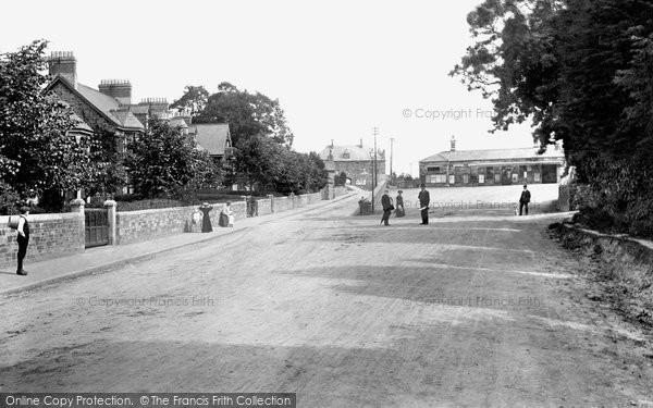 Bodmin, Station 1906