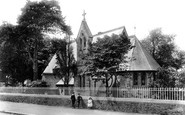 Bodmin, The Asylum Church 1906