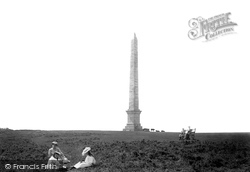 Bodmin, The Beacon Hill Obelisk 1894