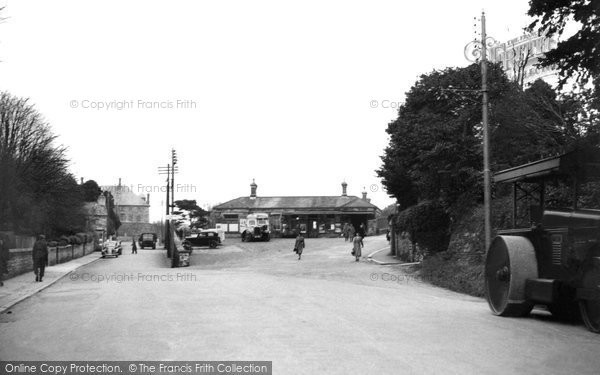Bodmin, The Station c.1955